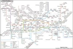 London Metro Map will make your travel comfortable in London