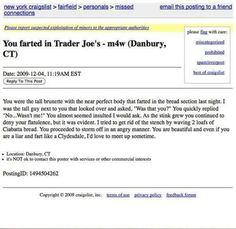 You farted in Trader Joe's - This is hilarious!