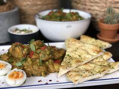 Indiase curry met kip, aardappel en groenten - Familie over de kook