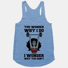 wonderwoman 23 More Workout Tanks To Not Work Out In