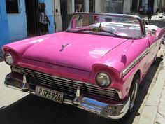 Design Inspo - Cuba's Car Culture and Bright Colors at Cris-Cris in Old Havana (Habana Vieja), Cuba via FoodWaterShoes