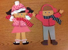 paper doll pattern ***