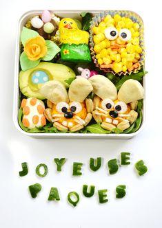 Easter Bento     Bento de Pâques