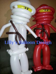 Lego Ninjago Balloon Sculpture