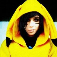 there is nothing more cute than andy biersack in a pikachu costume