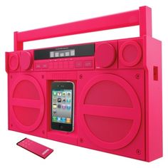 Portable FM Stereo Boombox for iPod/iPhone