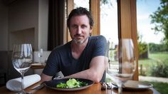 Ben Willis,  head chef and owner of Aubergine restaurant in Griffith has created a 1913 inspired dinner menu for Canberra's Centenary evening featuring chilled asparagus.