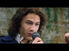 You're just too good to be true Song By Actor Heath Ledger from the Movie 10 Things I Hate About You