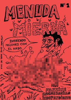 """""""Menuda mierda"""" (1). - Recopilación de historietas chorras. Obra de J. Luis, el autor de """"Chacho y Kanela"""". Diversión asegurada en formato #comic digital en ComicSquare: http://www.comicsquare.com/es/comic/menuda-mierda-1"""