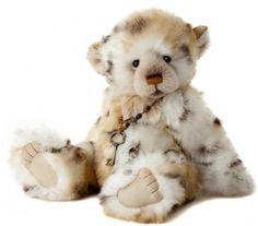 Charlie Bear Helen Teddy Bear Cottage - Collectable Charlie Bears