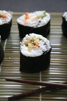 Vegan Sushi #vegan