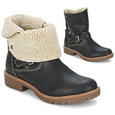 Bottines / Boots Tom Tailor CRAVI Noir 350x350