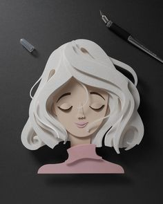 Get To Know The Sculptures Of Sensational Paper Cutouts Of John Ed De Vera illustration Artist Shows Off His Incredible Paper Work Skills By Recreating Famous Pop Culture Characters 3d Paper Art, Paper Artwork, Diy Paper, Paper Pop, 3d Paper Crafts, Origami Paper, Paper Quilling, Paper Cutting, Cut Out Art
