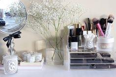 My Muji Storage Winter Rotation & A Muji Makeup Storage Overhaul | Pinterest | Muji makeup storage ...