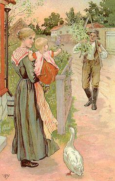 Jenny Nyström (Swedish 1854-1946)