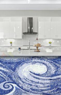 Kitchen Mosaic, Mosaic Bathroom, Mosaic Backsplash, Mosaic Wall Art, Marble Mosaic, Kitchen Backsplash, Patterned Kitchen Tiles, Shower Sizes, Tile Murals