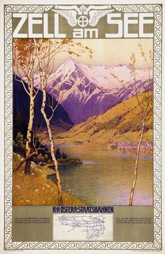 Vintage TP by Jahn Gustav: Zell am See, Austria Vintage Ski, Vintage Travel Posters, Fürstentum Liechtenstein, Harry Potter Poster, Ski Posters, Travel Ads, Retro Poster, Old Ads, Beautiful Places To Visit