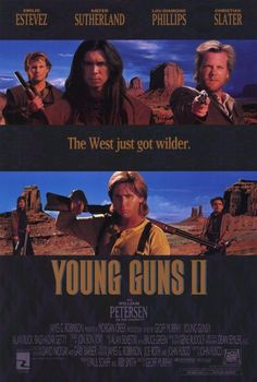 Young Guns 2 11x17 Movie Poster (1990)