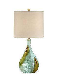 """Wildwood 32"""" h Art Glaze Bottle Lamp"""