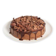 CHOCOMOUSSE - Delicioso brownie, coberto com creme de chocolate, decorada com raspas de chocolate meio amargo.  (Também em mini)
