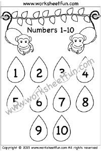 number chart 1-10