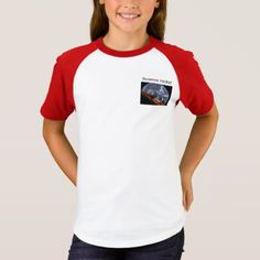 "Girls """"Science Rocks"" two tone T-Shirt - girl gifts special unique diy gift idea"