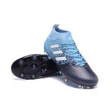 Bien Chaud Chaussures De Foot Adidas ACE 17.3 Primemesh FG - Noir/Bleu/Blanc