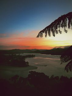 Sunset on the Coromandel peninsula