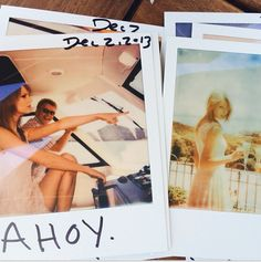 """Photographs of today."" #TaylorSwift"