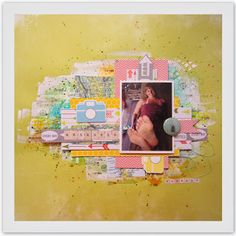 My LO's / matkusta Scrapbooking, Frame, Home Decor, Homemade Home Decor, Scrapbooks, A Frame, Frames, Hoop, Decoration Home