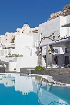 Andronis Boutique Hotel Pool and Restaurant, Santorini, Greec