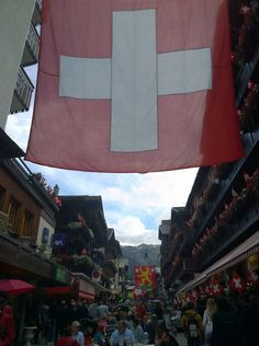 Zermatt. #SwissDay party