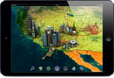 Earth 3D Amazing Atlas - $$ - Learn about wonders of the world, political/geographical facts, weather, and more in this truly interactive atlas! iOS.