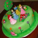 Bolo de Aniversário das Princesas