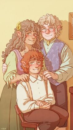 """"""" commissioned me to draw a proper Baggins portrait ♥ """" Hobbit Art, O Hobbit, Tolkien Books, Jrr Tolkien, The Misty Mountains Cold, Bagginshield, Character Design Inspiration, Middle Earth, Lord Of The Rings"""