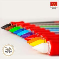 She taught you how to fill colors in those #family doodles you made. This #MothersDay make her day colorful. #DateWithMom