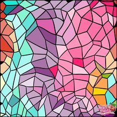 Find Seamless Background Abstract Geometric Shape Stainedglass stock images in HD and millions of other royalty-free stock photos, illustrations and vectors in the Shutterstock collection. Coloring Apps, Adult Coloring, Coloring Books, Geometric Wallpaper, Seamless Background, Happy Colors, Photo Wallpaper, Geometric Shapes, Stained Glass