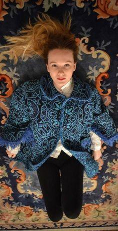 Vintage gipsy coat, sold on www.bluemadone.com #vintage #bohemian #gipsy #coat