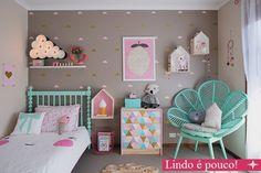 Lindo quarto de menina decorado
