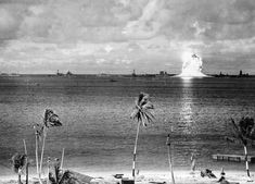 Photos from Worlds First Underwater Nuclear Explosion