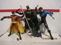 Dc Action Figures, Marvel Statues, Wave 3, Bat Family, Dc Heroes, Nightwing, Dc Universe, Cool Toys, All Star