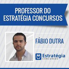Fábio Dutra é professor de Direito Tributário e Legislação Tributária. Atualmente, exerce o cargo de Auditor-Fiscal da Receita Federal do Brasil. Além disso, é pós-graduando em Direito Tributário. https://www.estrategiaconcursos.com.br/professor/fabio-dutra-3329/