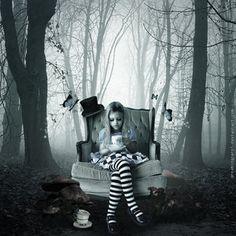 ☮✿★ Dark -  little Alice ✝☯★☮