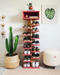Shoe Rack Plan/Shoe Tower Plan/shoe shelf plan/shoe organizer plan/wood shoe rack plan/rustic shelf plan/boot rack plan/pdf pattern/wood pdf – The World