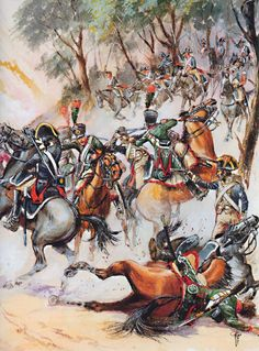 The 10th Chasseurs in Spain. The ambush of 21 March 1809 where 50 Chasseurs were massacred and mutilated