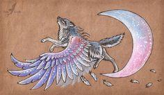 Moon singer by =AlviaAlcedo on deviantART
