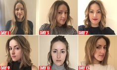 FEMAIL writer Unity Blott, 27, tries out celebrity hairdresser Luke Hersheson's Antibob, an ultra-textured, undone take on the classic bob designed to give natural shape and volume.