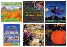"Great list of Halloween books (31 for a count down actually). Also some fun looking books in the comment sections like ""The Hallo-Wiener"" by Dav Pilkey."