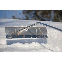 Snow Rake Roof Shovel Pusher Winter Garden Tools Thrower 21 FT Extension Safety