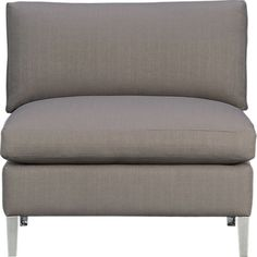 cielo shadow armless chair in chairs | CB2 $599